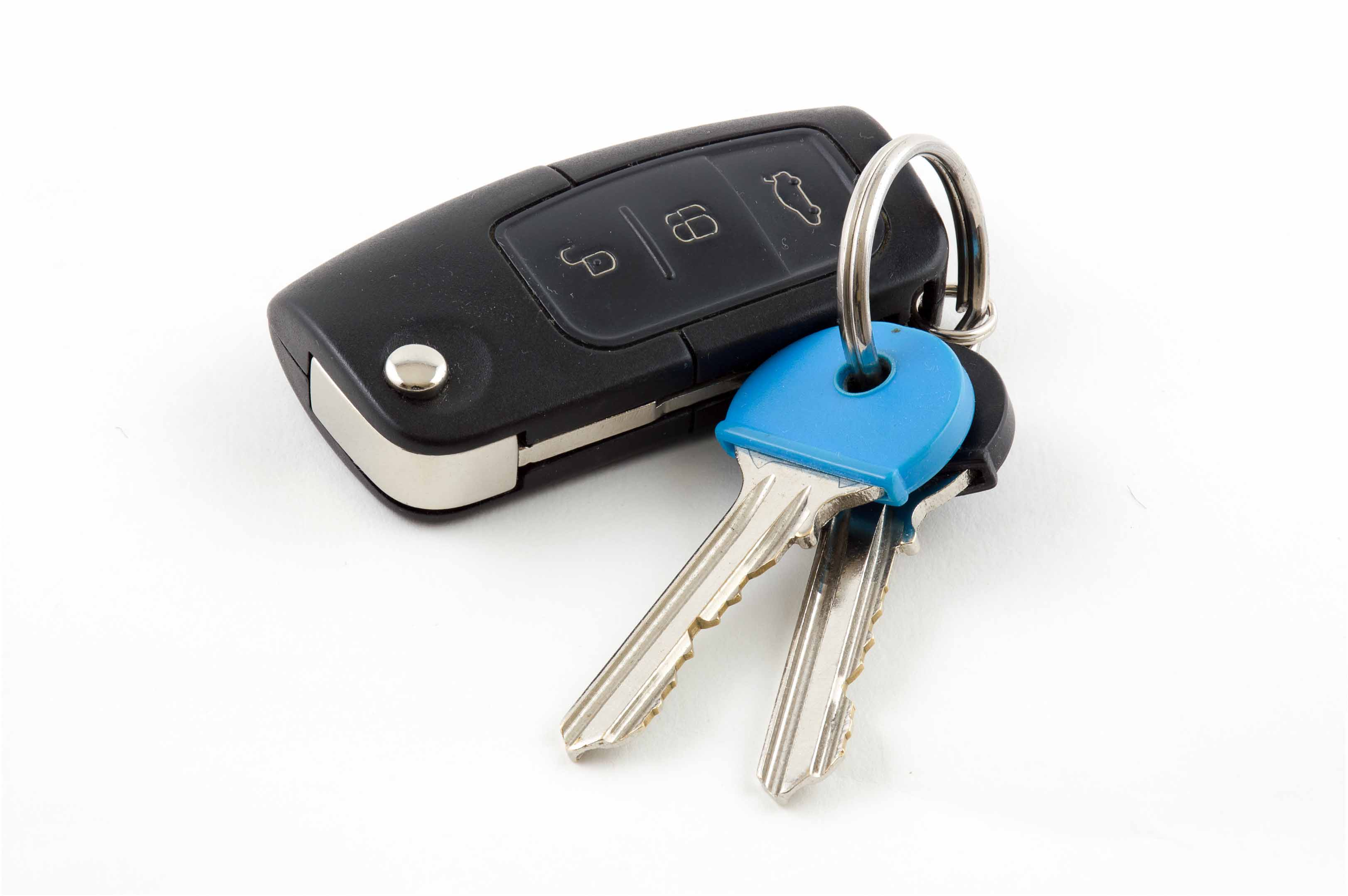 Car key cut and car